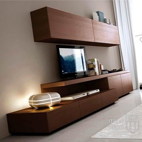 Rack vajillero para lcd monza italia deco for Modelos de muebles para tv modernos
