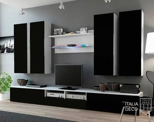 Modular para tv lcd vajillero catanzaro italia deco for Muebles modulares modernos