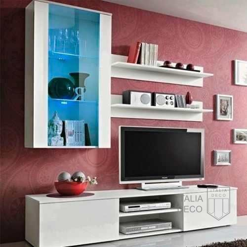 Modular para tv lcd vajillero trento italia deco for Muebles modulares para television